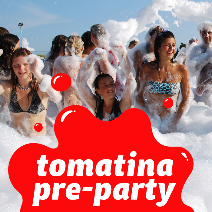 Tomatina pre party